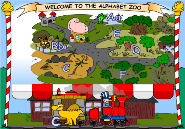 Alphabet zoo | Recurso educativo 33903