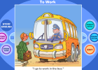 Story: To work | Recurso educativo 39110