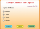 Europe countries and capitals | Recurso educativo 53056
