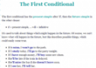 Lesson: First conditional | Recurso educativo 59950