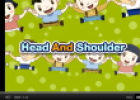Song: Head and shoulders | Recurso educativo 60205