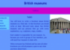 Webquest: British museums | Recurso educativo 10328