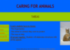 Webquest: Caring for animals | Recurso educativo 10333