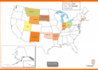 USA Puzzle Map | Recurso educativo 14528