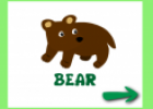 Animals in the forest (flashcards) | Recurso educativo 21439