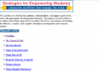 Website: Strategies for Empowering Students | Recurso educativo 22009