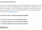 Reported Speech Quiz | Recurso educativo 24283