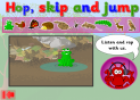 Hop, skip and jump | Recurso educativo 25660