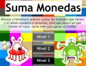 Suma monedas | Recurso educativo 5435