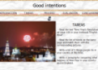 Webquest: Good intentions | Recurso educativo 9667
