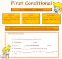 First conditional | Recurso educativo 63416