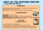 Tertiary sector | Recurso educativo 89923