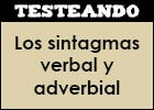 Los sintagmas verbal y adverbial | Recurso educativo 48276