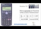 3.Calculadoras CASIO: Estadística descriptiva. | Recurso educativo 675519