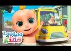 The Wheels On The Bus - Fun Songs for Children | LooLoo Kids | Recurso educativo 767996